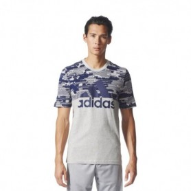 Adidas Sports Essentials Linear Camo Tee M BQ9597