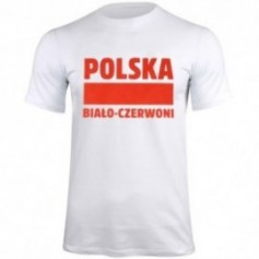 T-shirt Poland White-Red white S337909