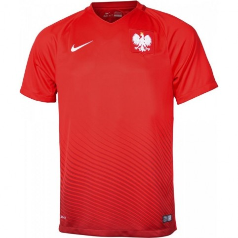 Football jersey Nike Polska Away Stadium M 724633-611