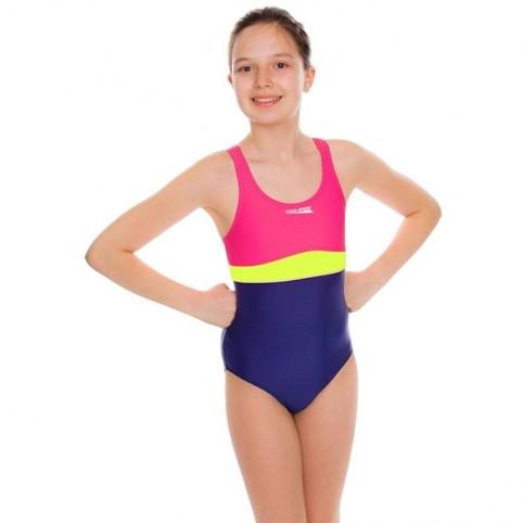 Swimming suit Aqua-speed Junior Emily pink-purple