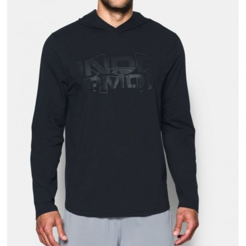 Under Armour Training Shirt Sportstyle Stretch Hoodie M 1303702-005