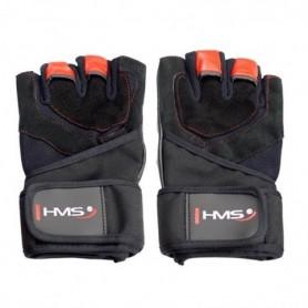 Gym gloves Black / Red HMS RST01 rL