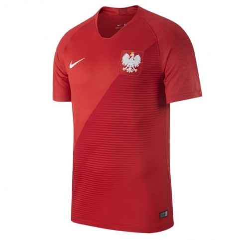 Football jersey Nike Poland Breathe Stadium Away Jr. 894014-611