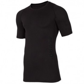 Compression T-Shirt Baselayer 4F PRO M D4L18-TSMF401 deep black