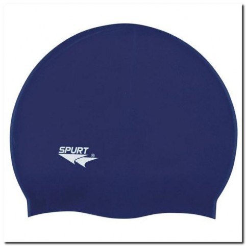 SPURT F248 silicone swimming cap navy blue