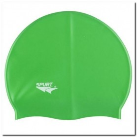 SPURT SH86 silicone swimming cap green
