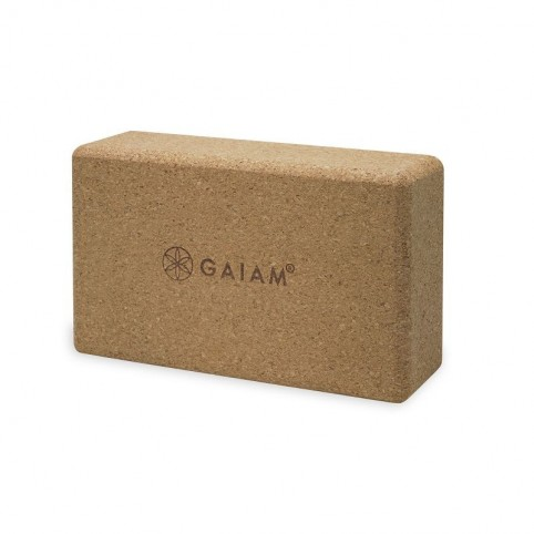 A yoga cube made of cork 52292