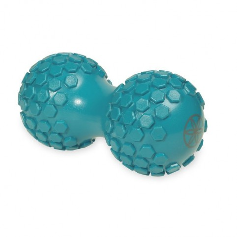 Double ball with protrusions for massage 61354
