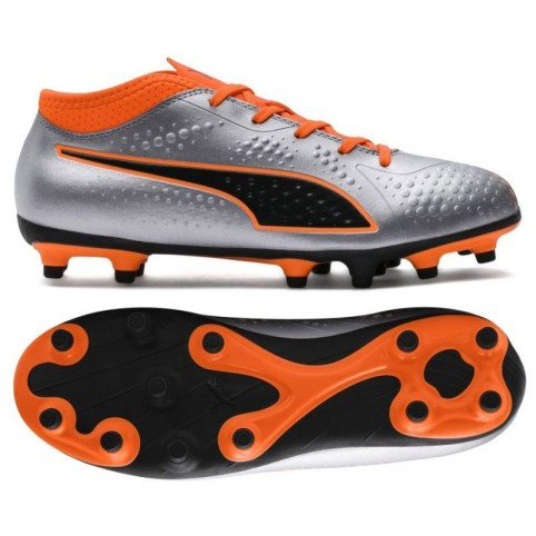 Football boots Puma One 4 Son FG Jr 104782 01