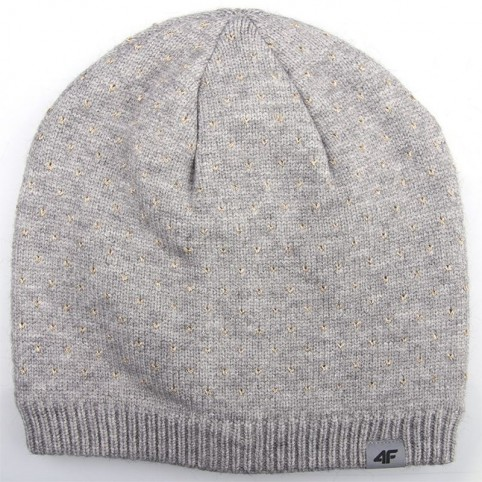 Winter hat 4f HJZ18-JCAD003 gray