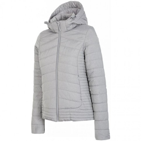 Jacket 4f W H4Z17-KUD004 light gray melange