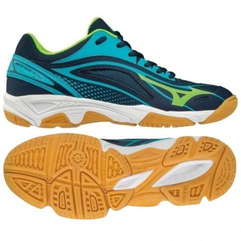 vente de sortie vif et grand en style enfant Handball shoes Mizuno Mirage Star 2 Jr. X1GC170536