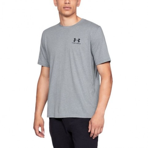 UA Sportstyle Shirt Left Chest SS M 1326799-036