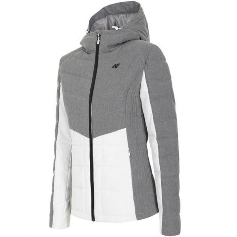 Jacket 4f W H4Z18-KUD007 cool light gray melange