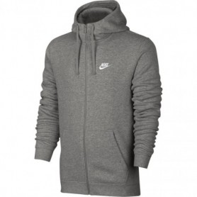 Nike NSW Hoodie FZ FLC Club M 804389-063 sweatshirt