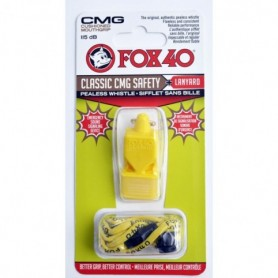 Whistle Fox 40 CMG Classic Safety + string 9603-0208 yellow