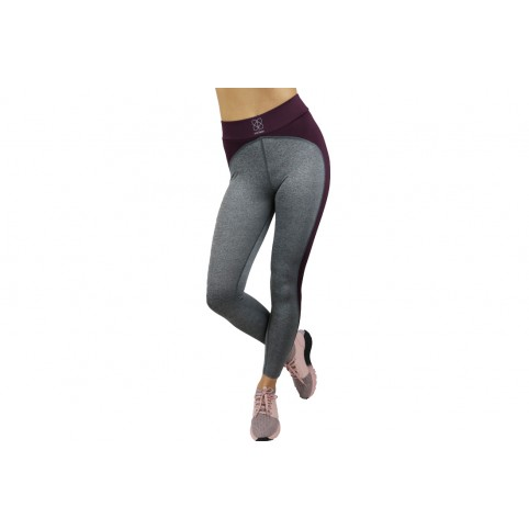GymHero Leggins GREY-HEART γυναικεια   ρούχα   φόρμες   σόρτς