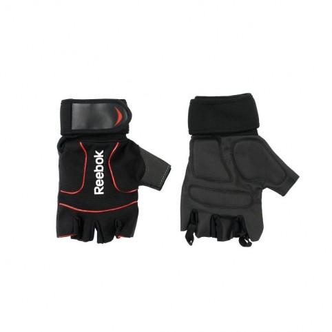 Lifting Reebok training gloves. L RAGB-11234BK