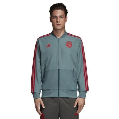 Adidas FC Bayern PRE JKT M CW7298 football jersey