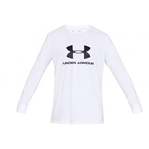 Under Armour Sportstyle Logo Long Sleeve 1329283-100