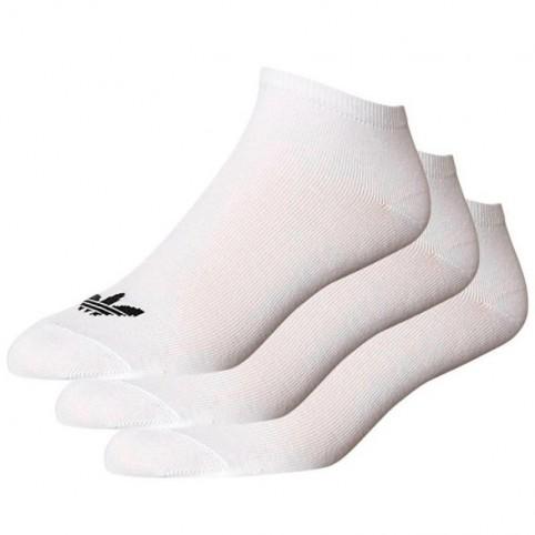 Socks adidas ORIGINALS Trefoil Liner S20273 3 pack white