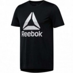Reebok Workout Graphic Tech Tee M DU2178 training shirt
