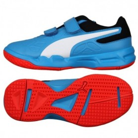 Indoor shoes Puma Tenacious V Jr. Bleu Azur 104891 06