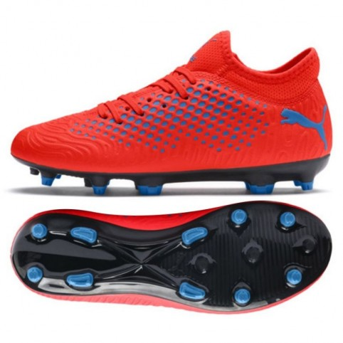 Football boots Puma FUTURE 19.4 FG AG Jr 105554 01