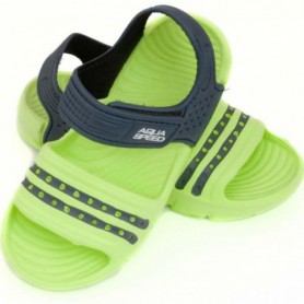 Sandals Aqua-speed Noli green navy blue col .84