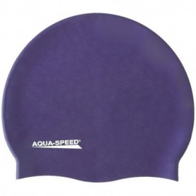 Swimming cap Aqua-Speed silicone Mega 10 navy-violet
