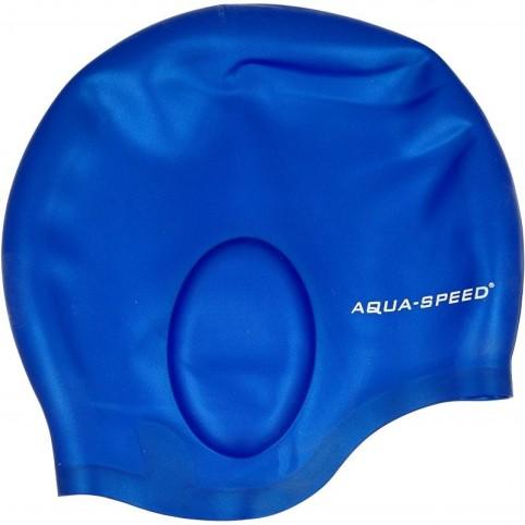Swimming cap Aqua-Speed Ear Cap 01 blue