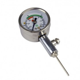 Pressure gauge for ball pressure Meteor 39007