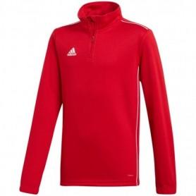 Adidas CORE 18 TRAINING TOP sweatshirt red JR CV4141