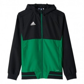 Sweatshirt adidas TIRO 17 black-green JR BQ2788