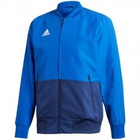 Adidas Condivo 18 Presentation blouse, blue M CF4309