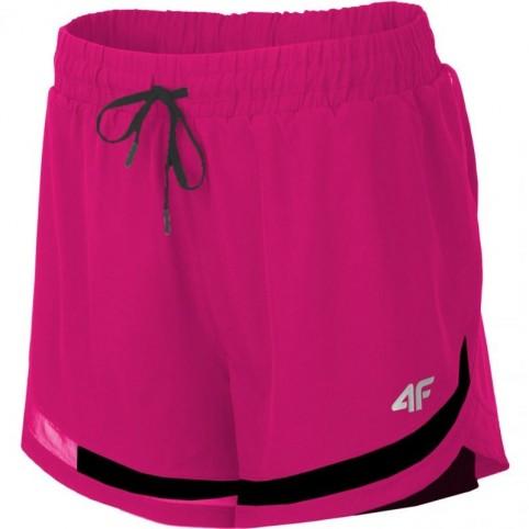 Shorts 4F W H4L19 SKDF003 53S dark pink
