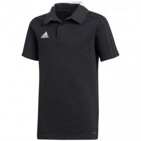 T-shirt adidas Condivo 18 Cotton Polo JR CF4373 black