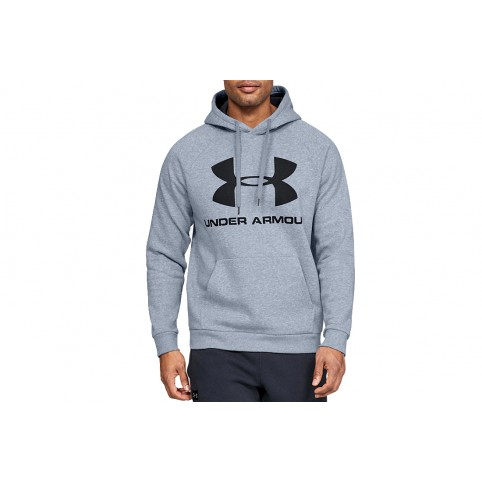 Under Armour Rival Fleece Sportstyle Logo Hoodie 1345628-035