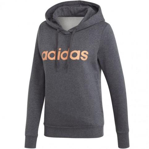 Sweatshirt adidas W Essentials Linear OH HD FL W EI0670