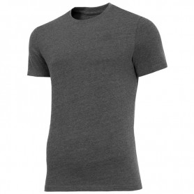 T-shirt 4F M H4Z19-TSM070 23M dark gray melange
