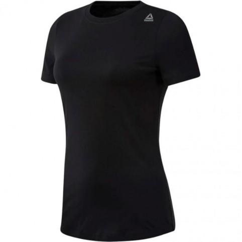 Koszulka damska Reebok TE Tee czarna CF8587