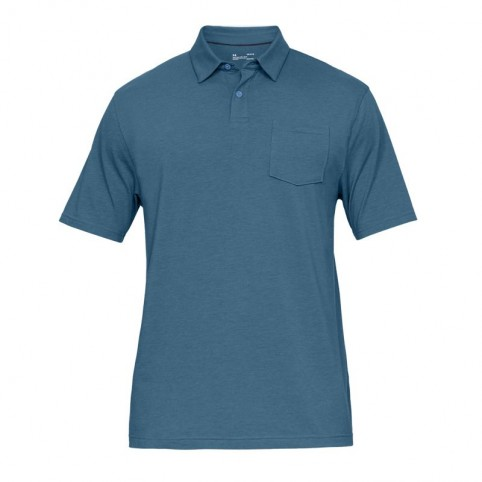 Koszulka Polo Under Armour Charged Cotton Scramble M 1321111-407