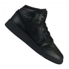 Nike Air Jordan 1 Mid GS Jr 554725-090 shoes