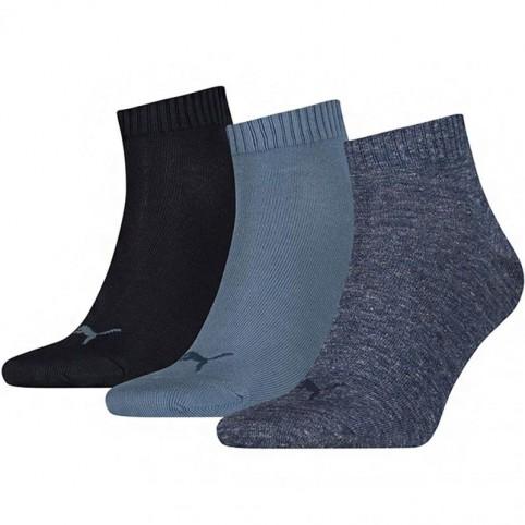 Puma Unisex Quarter Plain Socks 3 pairs 271080001 460