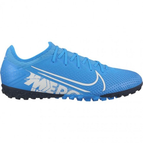 Nike Mercurial Vapor 13 Pro TF M AT8004 414 blue football shoes