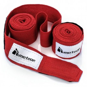 Boxing bandage Meteor 2.8 m 2 pcs. Red 24296
