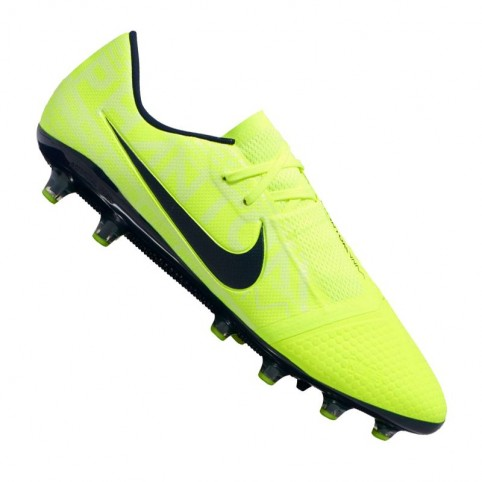 Nike Phantom Vnm Pro AG-Pro M AO0574-717 yellow shoes