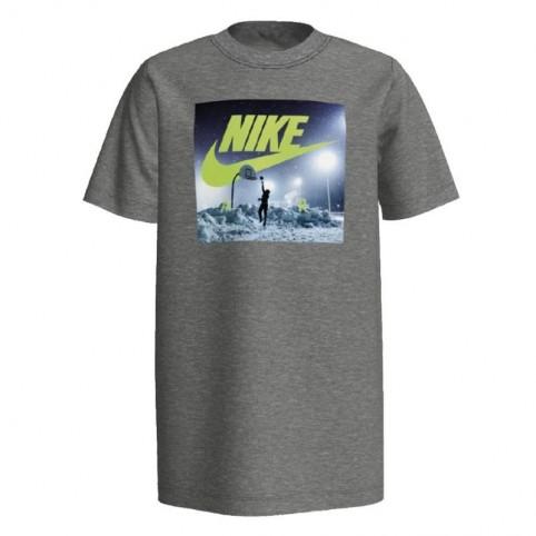 T-Shirt Nike B NSW Tee Air Hoop Snow Junior CK5771-063