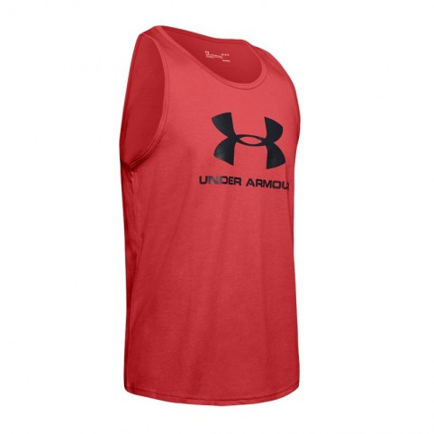 T-shirt Under Armour Sportstyle Logo Tank M 1329589-646