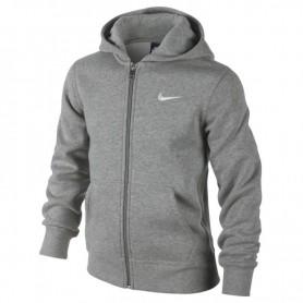 Nike Brushed Fleece Full-Zip Hoodie Junior 619069-063